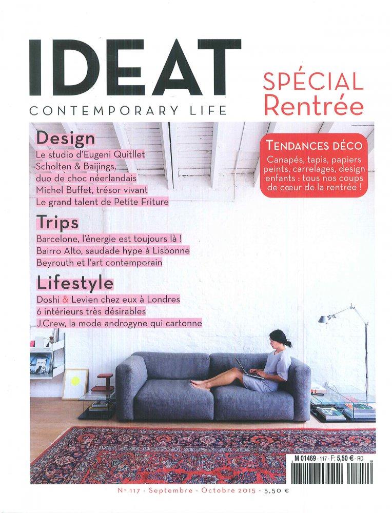 IDEAT Spécial Rentrée - n°117 / Septembre-Octobre 2015 / IDEAT