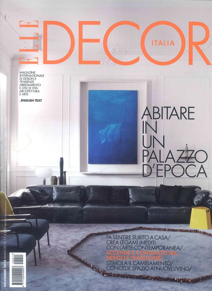 Elle Decor Italia N.11 / Novembre 2014 / Elle Decor Italia