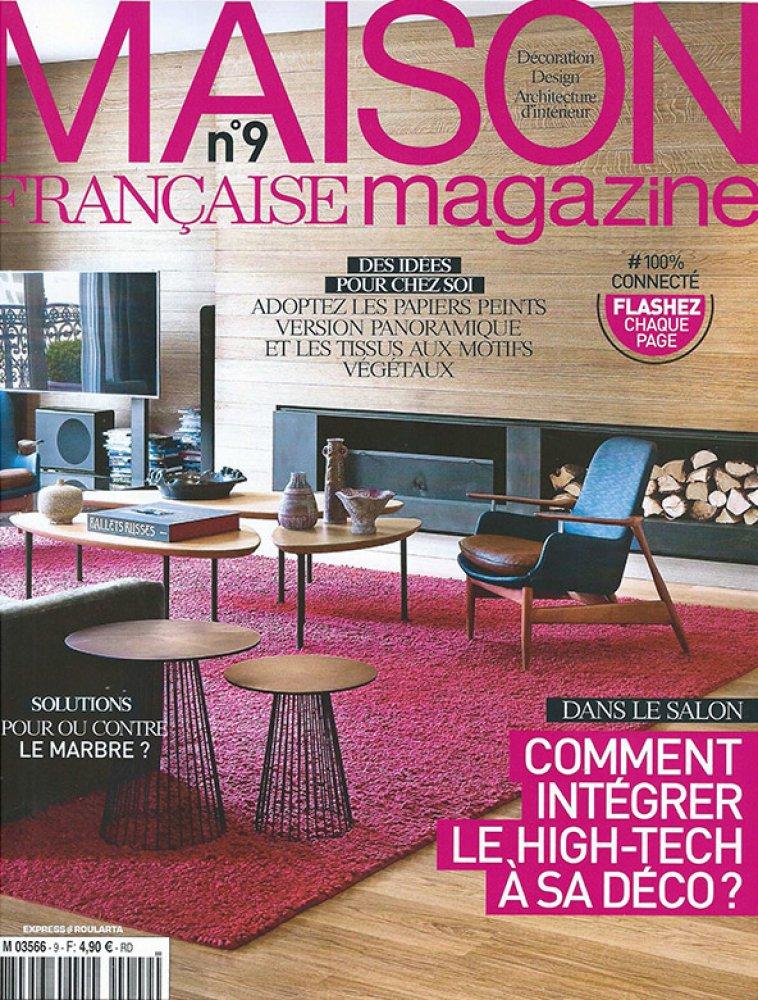 Maison Française Magazine n°9 / Décembre 2014 - Janvier 2015 / Maison Française Magazine