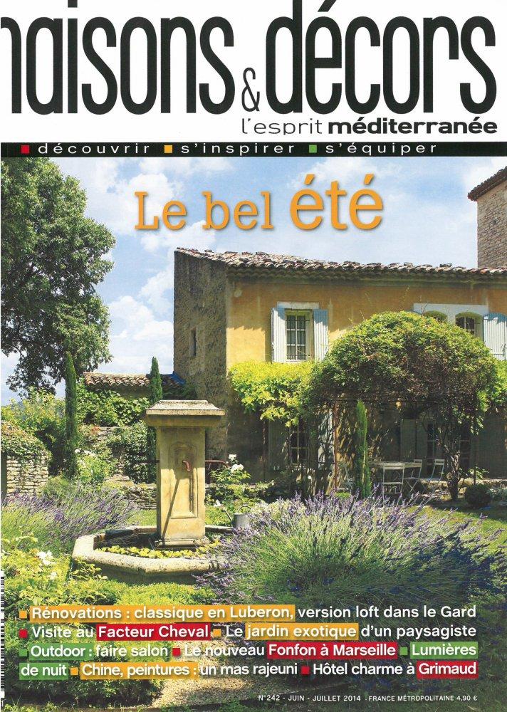 Maisons & Décors N.242 / Juin - Juillet 2014 / Maisons & Décors