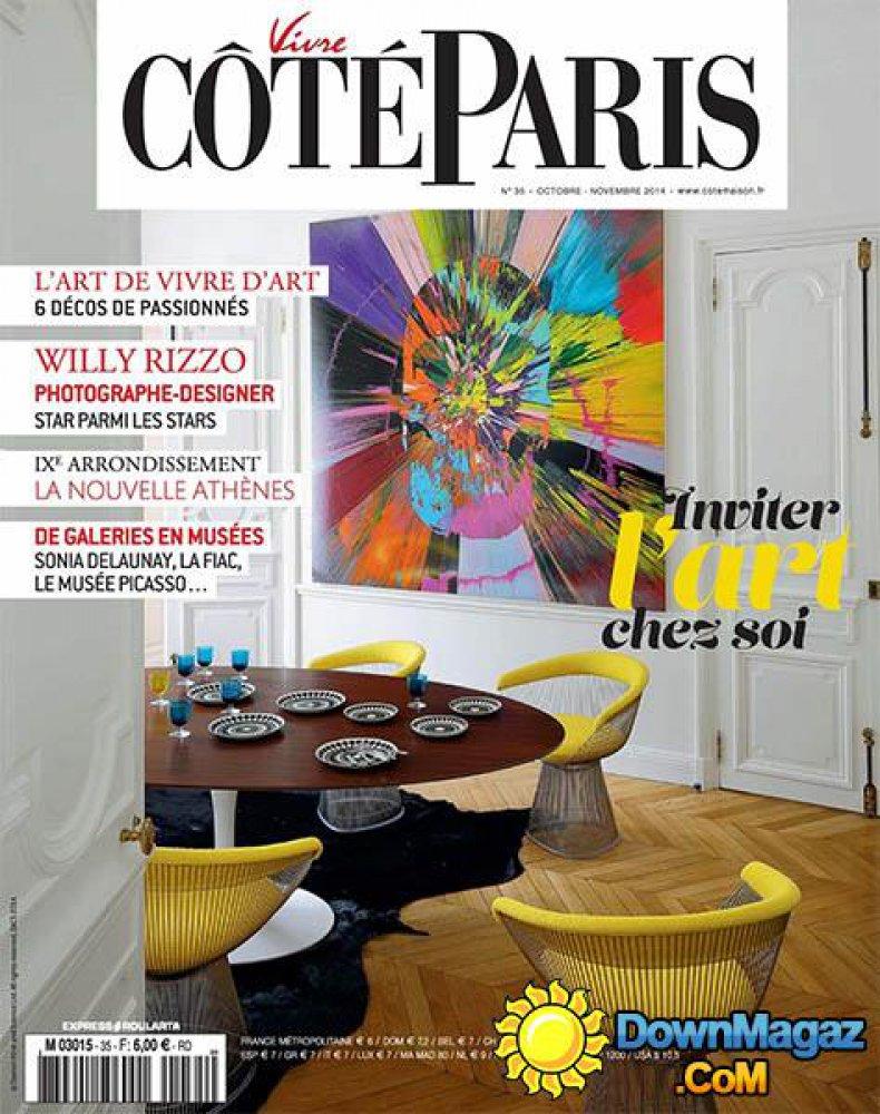 Vivre Côté Paris n°35 / Octobre-Novembre 2014 / Vivre Côté Paris
