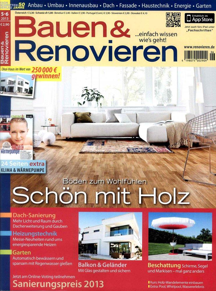 Bauen und Renovieren / Mai - Juin 2013 / Bauen und Renovieren
