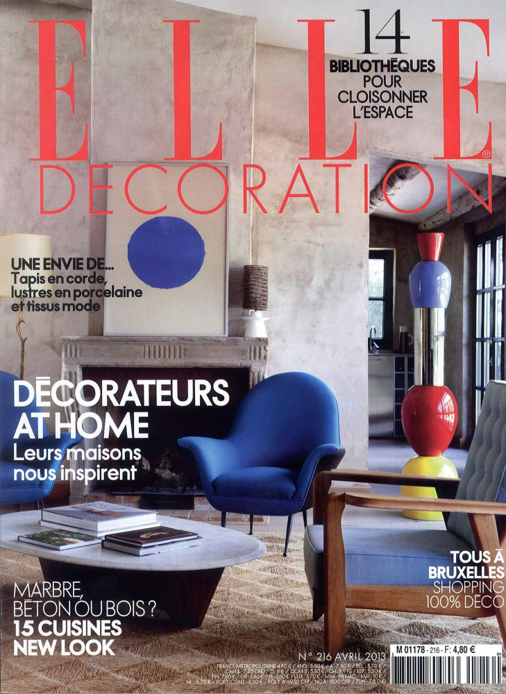 Elle Décoration N.216 / Avril 2013 / Elle Décoration