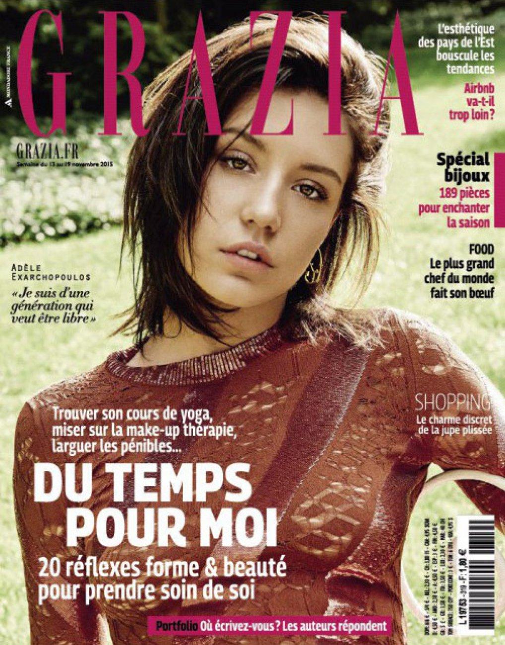 Grazia #319 / semaine du 13 au 19 novembre 2015 / Grazia