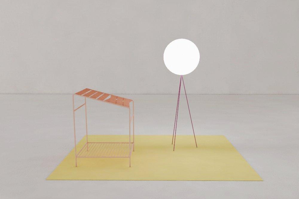Cabinet Utopique exhibition, Dynamique installation