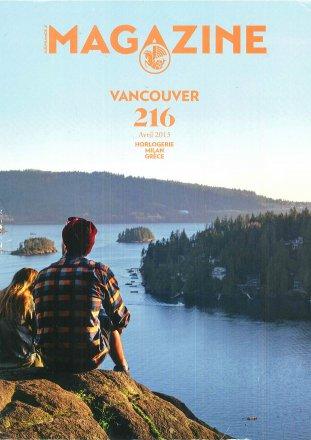 Magazine Vancouver 216 / Magazine Vancouver / Avril 2015