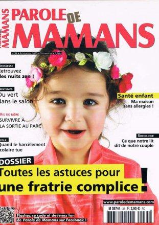Parole de Mamans n°34 / Parole de Mamans / Printemps 2015