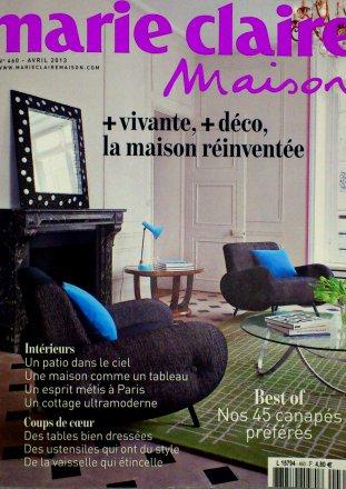 Marie Claire Maison n°460 / Marie Claire Maison / Avril 2013