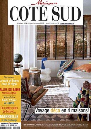 Maisons Côté Sud Numéro 134 / Maisons Côté Sud / Février - Mars 2012