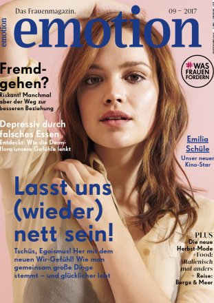 Emotion / Emotion Das Frauenmagazin / September 2017