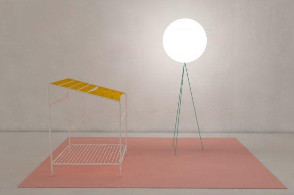 Cabinet Utopique exhibition, Dynamique installation 1