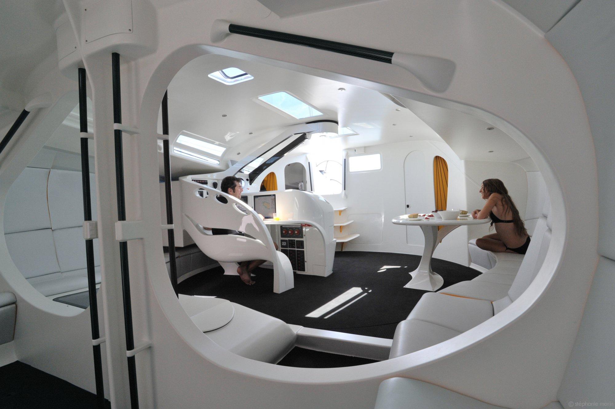 Ateliers >> voilier JP54 de jean pierre dick - nautical design award   Réalisations - Smarin