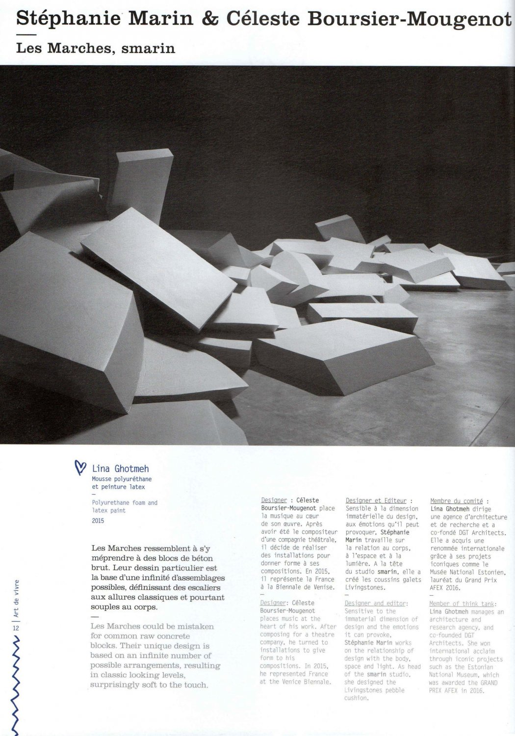 Intramuros N 190 Special French Design | Publications - Smarin