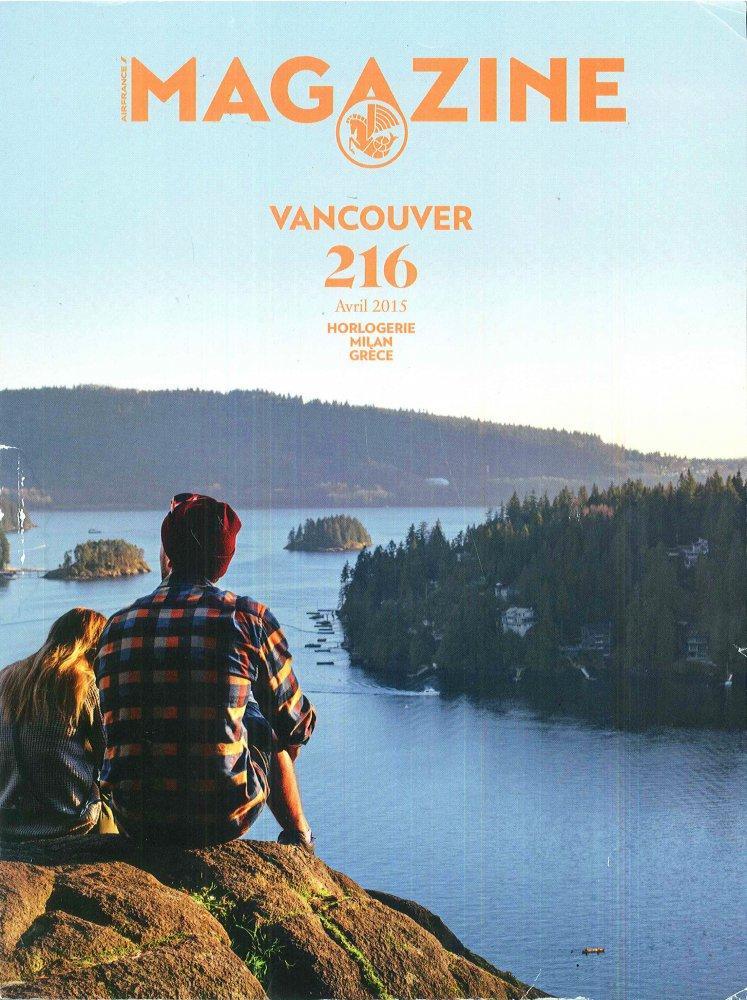 Magazine Vancouver 216 / Avril 2015 / Magazine Vancouver
