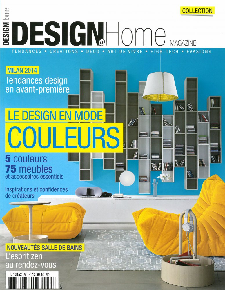 Design@Home Magazine N.55 / Juin 2014 / Design@Home Magazine
