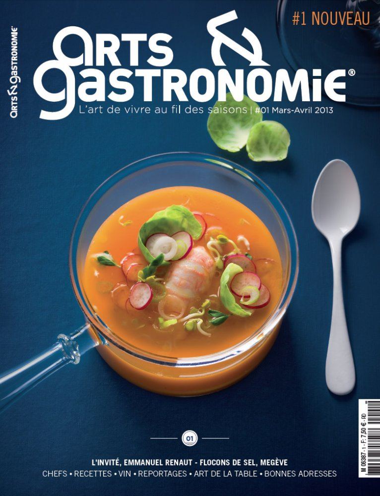 Arts & Gastronomie N.01 / March - April 2013 / Arts & Gastronomie