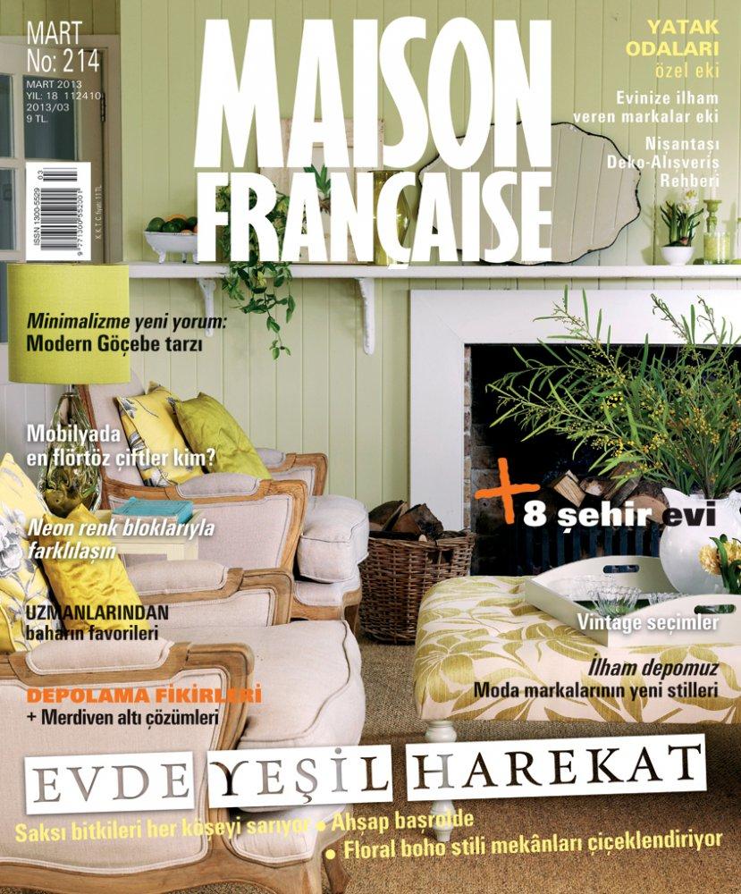 Maison Française N.214 / March 2013 / Maison Française Turquie