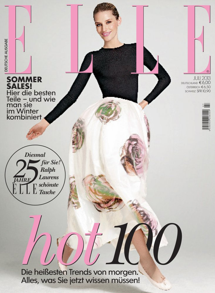 Elle - édition allemande / Juillet 2013 / Elle