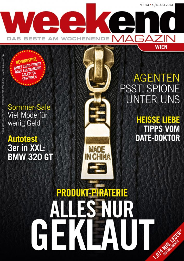 Weekend Magazin Austria / Juillet 2013 / Weekend Magazin Austria
