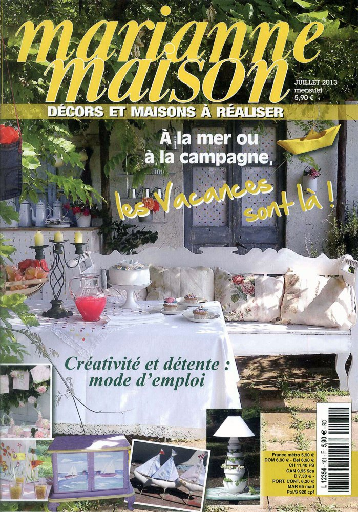 Marianne Maison / Juillet 2013 / Marianne Maison