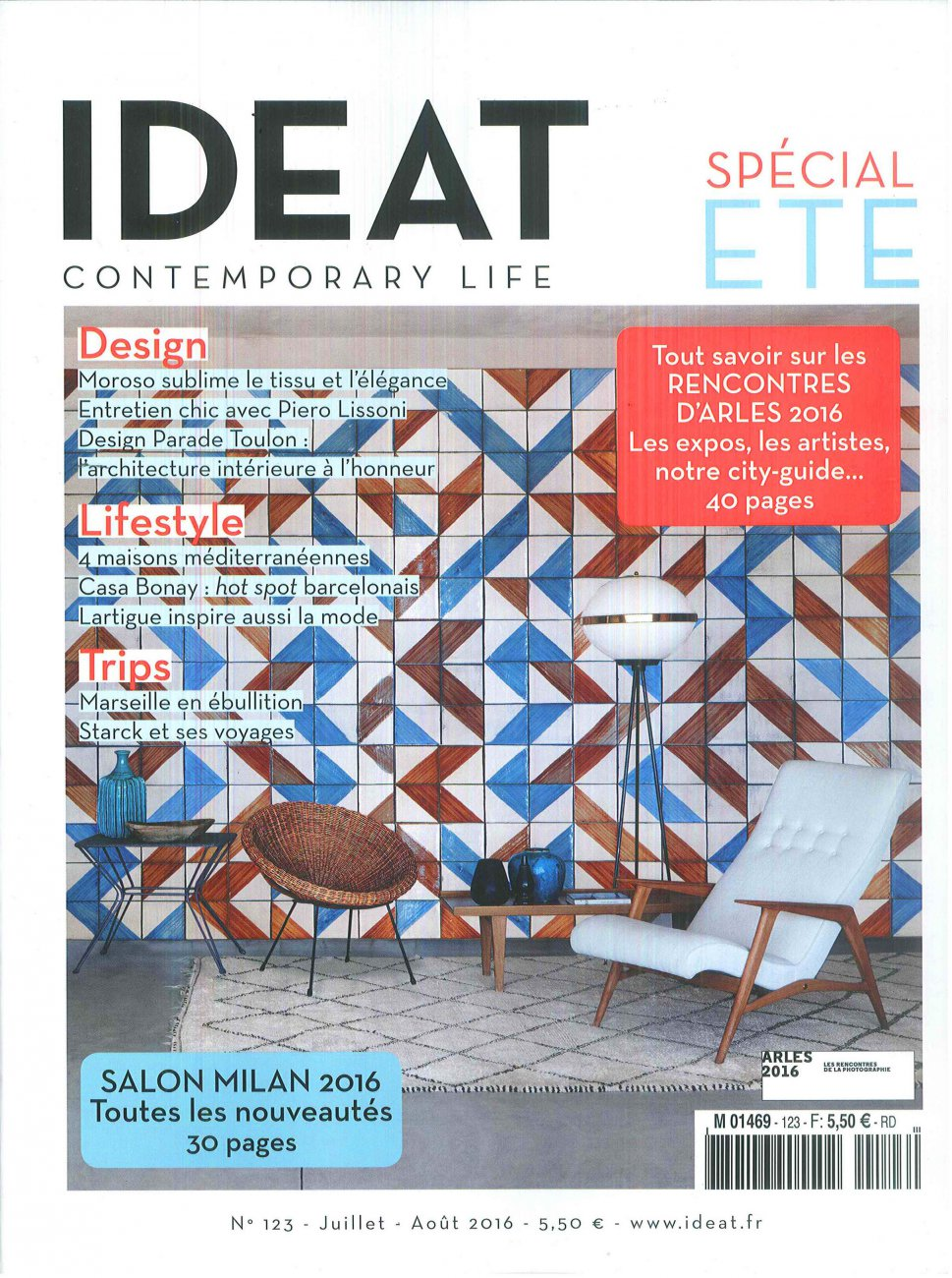IDEAT N.123 - Spécial été / July - August 2016 / IDEAT