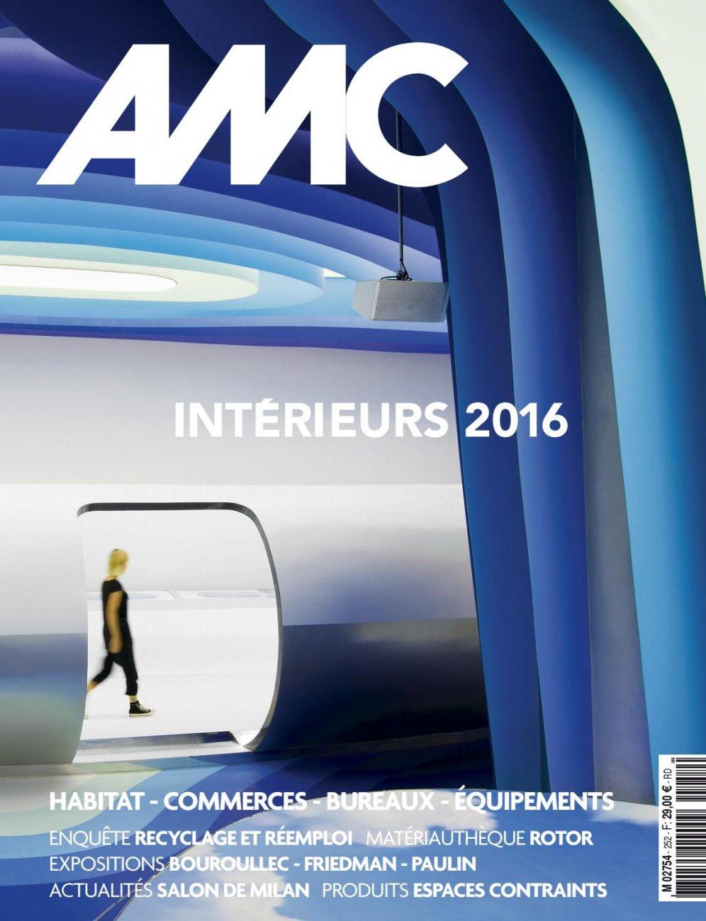 AMC N.252 - Intérieurs 2016 / june - july 2016 / AMC