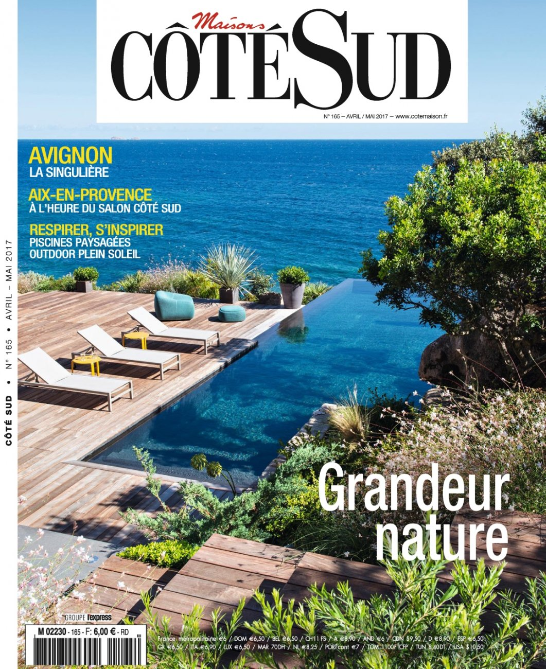 Côté Sud N.165 / April - May 2017 / Maisons Côté Sud