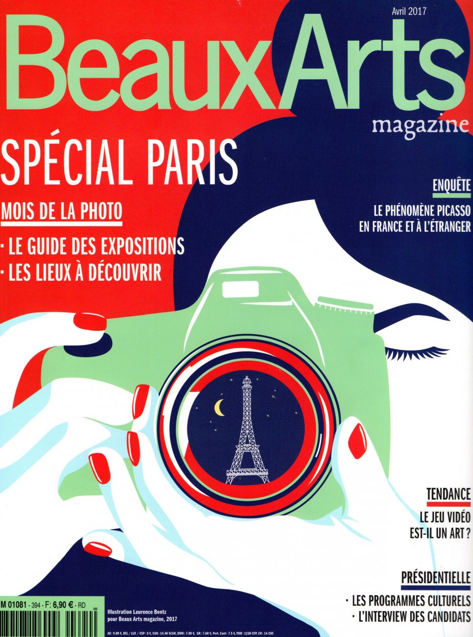 Beaux Arts Special Paris / April 2017 / Beaux Arts Magazine