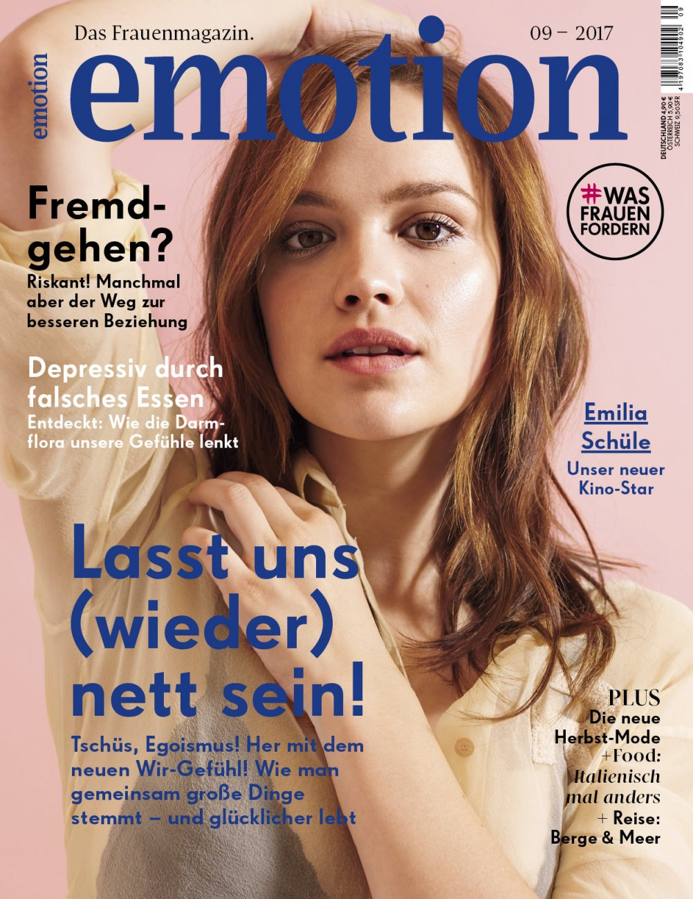 Emotion / September 2017 / Emotion Das Frauenmagazin