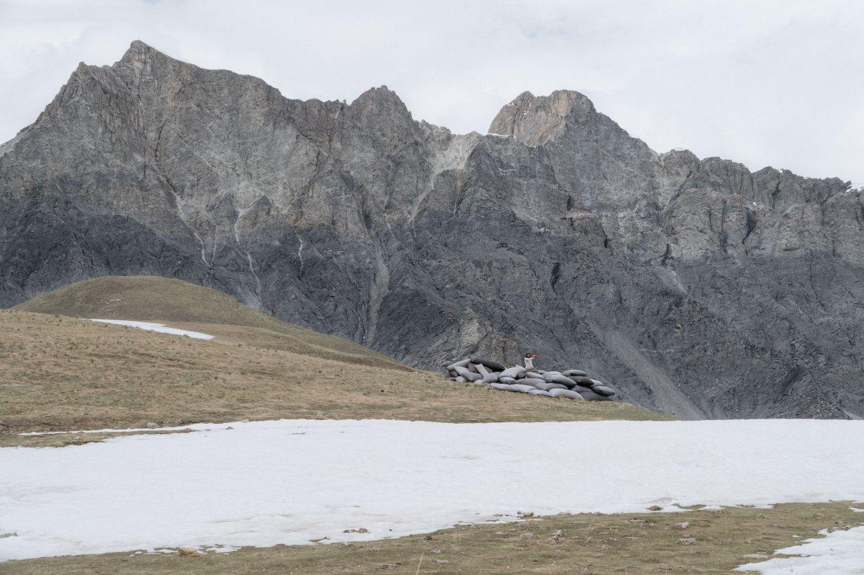 barricade à la montagne