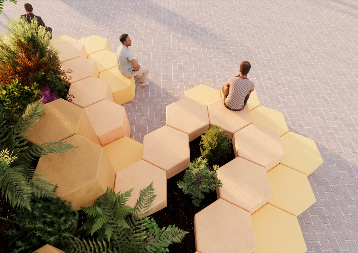 London Design Festival : smarin's new material research for urban living spaces