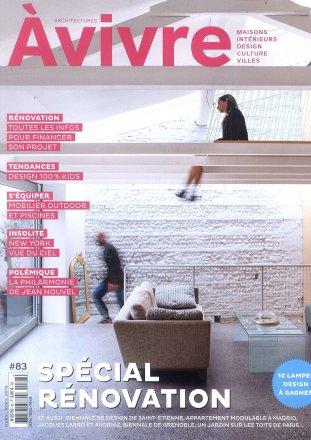 Architectures A Vivre #83 / Architectures A Vivre / Mars-Avril 2015