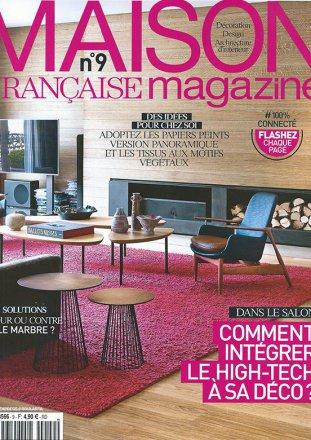 Maison Française Magazine n°9 / Maison Française Magazine / Décembre 2014 - Janvier 2015
