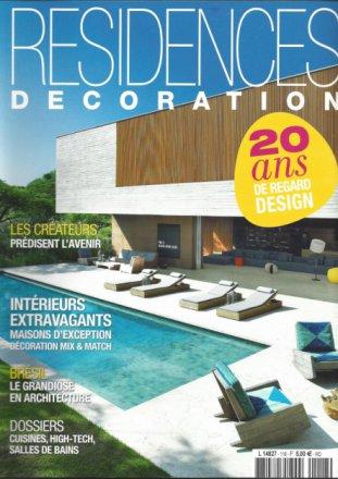 Résidences Décoration / Juin-Juillet 2014