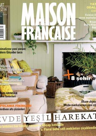 Maison Française N.214 / Maison Française Turquie / March 2013