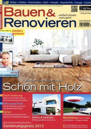 Bauen und Renovieren / May - June 2013