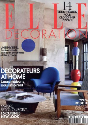 Elle Décoration N.216 / April 2013