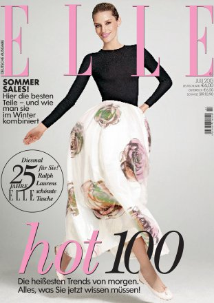 Elle - german edition / July 2013