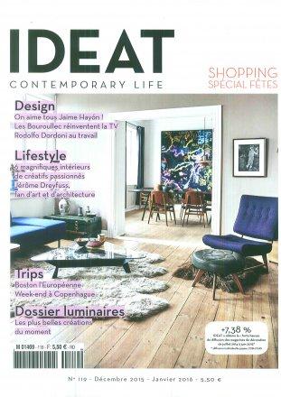 IDEAT Spécial Fêtes - N°119 / IDEAT  / Décembre 2015 - Janvier 2016