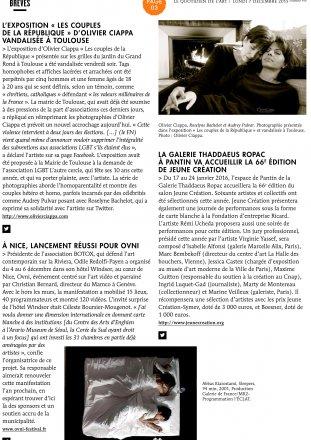 Le Quotidien de l'Art - n°958