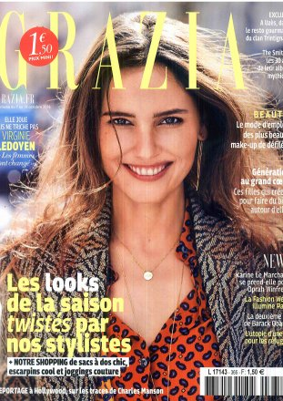 Grazia #365 / week 7 to 13 October 2016