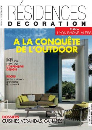 Résidences Décoration - Lyon Rhône-Alpes edition / Résidences Décoration / April - May 2017