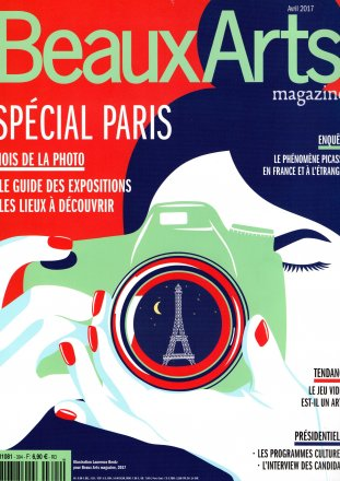 Beaux Arts Special Paris / Beaux Arts Magazine / April 2017