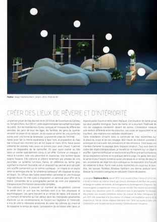 SILENCE Maison & Objet Paris N°30