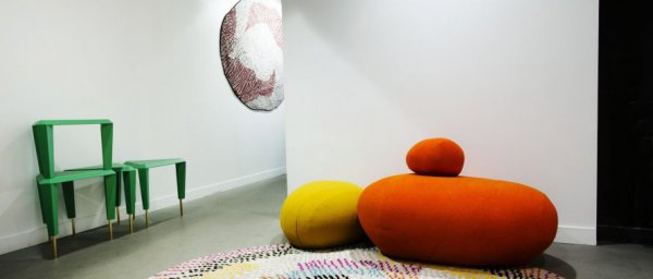 Paris Design Week - ziggurat - colorstones