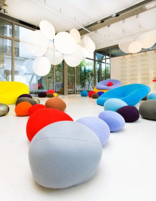 designer's days with Kvadrat - colorstones 1
