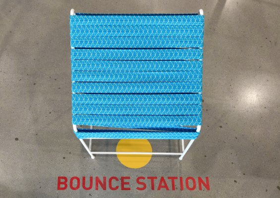 Bounce Station, Centre Pompidou Paris